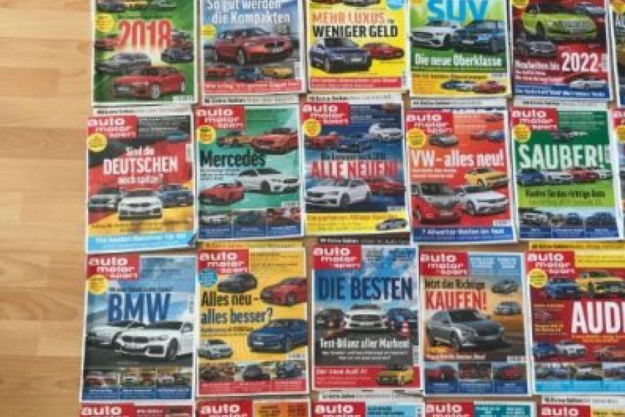 56 Auto Motor und Sport Zeitschriften 30€ - Bild 4