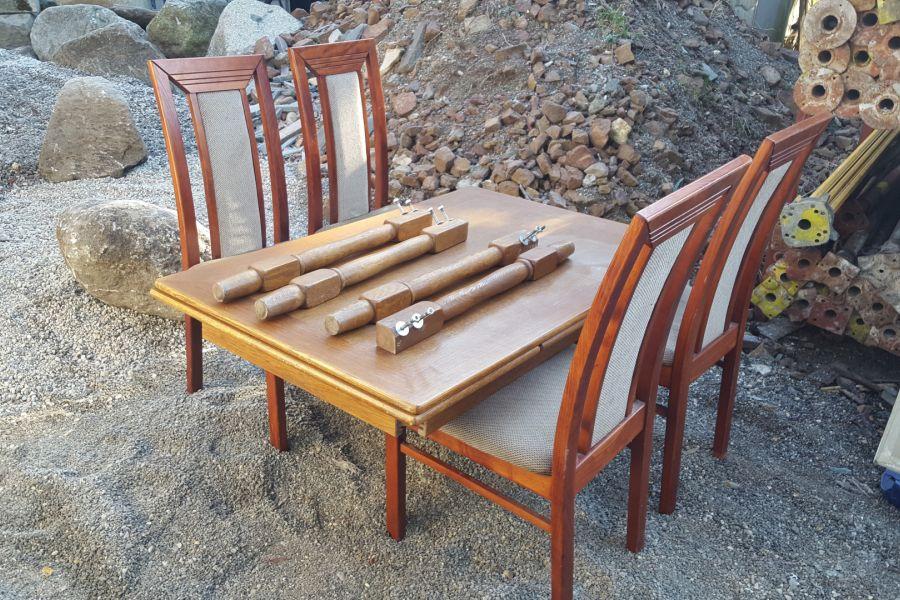 Küchentisch mit 4 Stühle - Bild 2