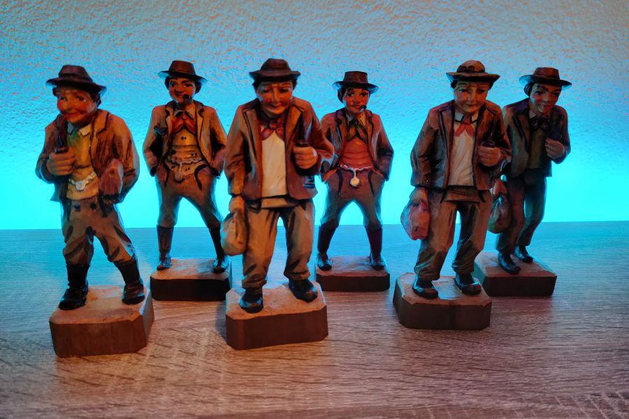 Bauernfiguren aus Holz - Bild 2