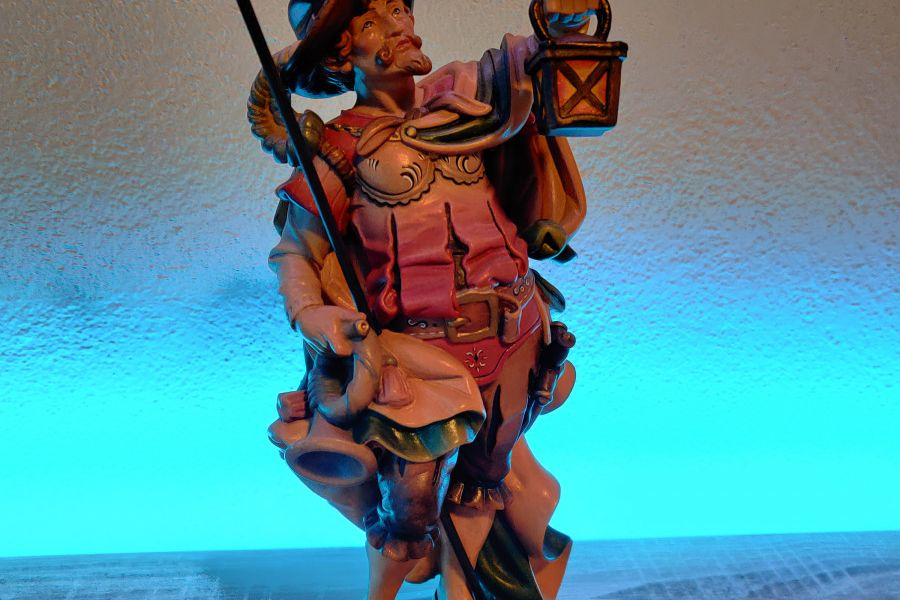 Nachtwächter aus Holz - Bild 1