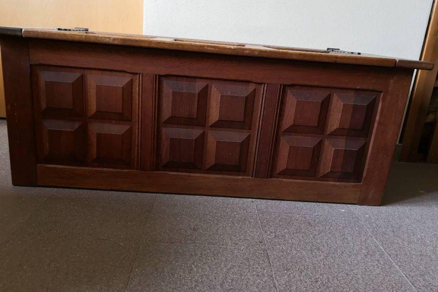 Truhe massiv Holz - Bild 2