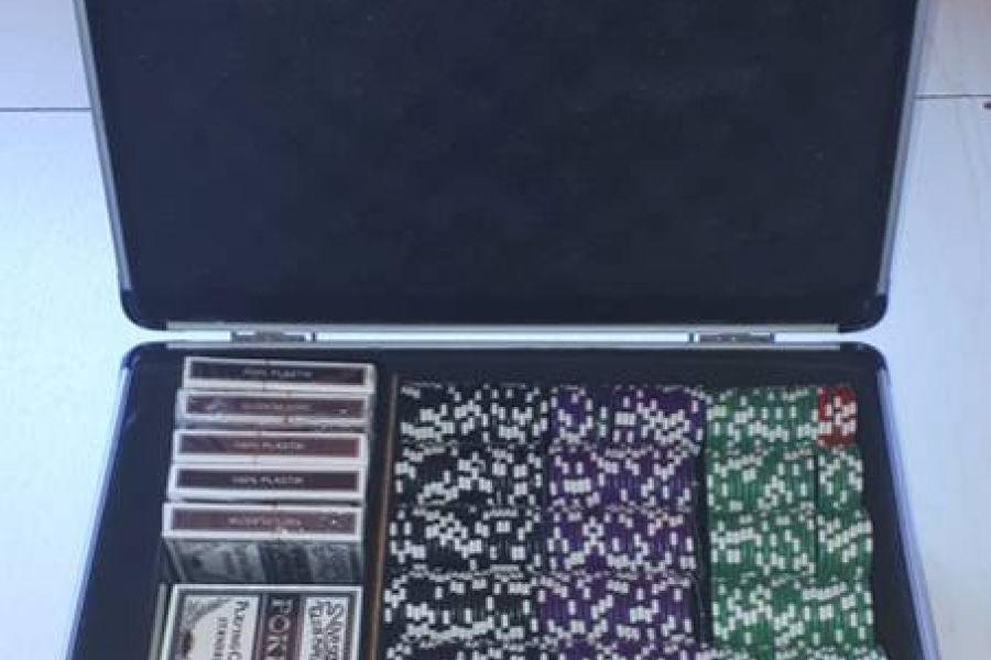 Pokerkoffer mit 1000 Chips - Bild 1