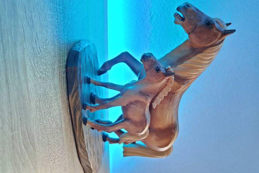 Pferde aus Holz - Bild 2