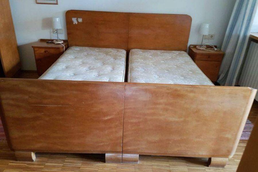 Doppelbett Massivholz zu Verschenken - Bild 1